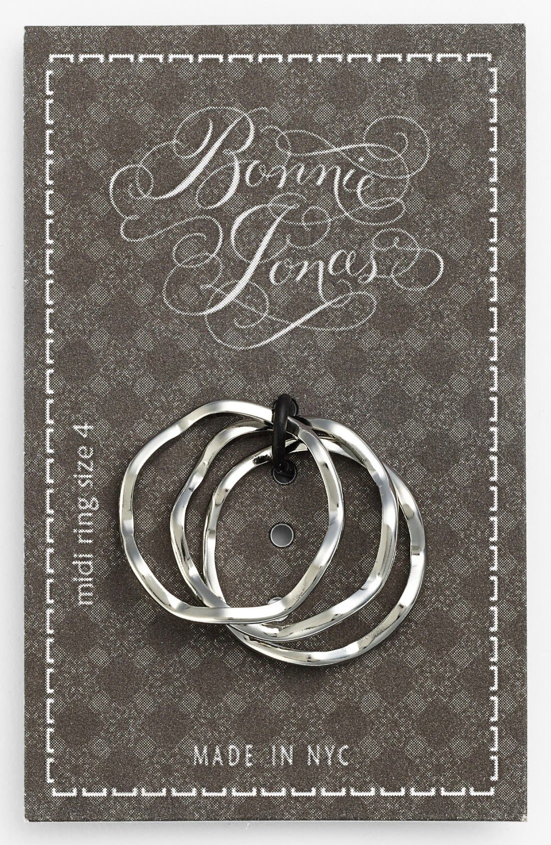 Alternate Image 1 Selected - Bonnie Jonas Midi Rings (Set of 3)