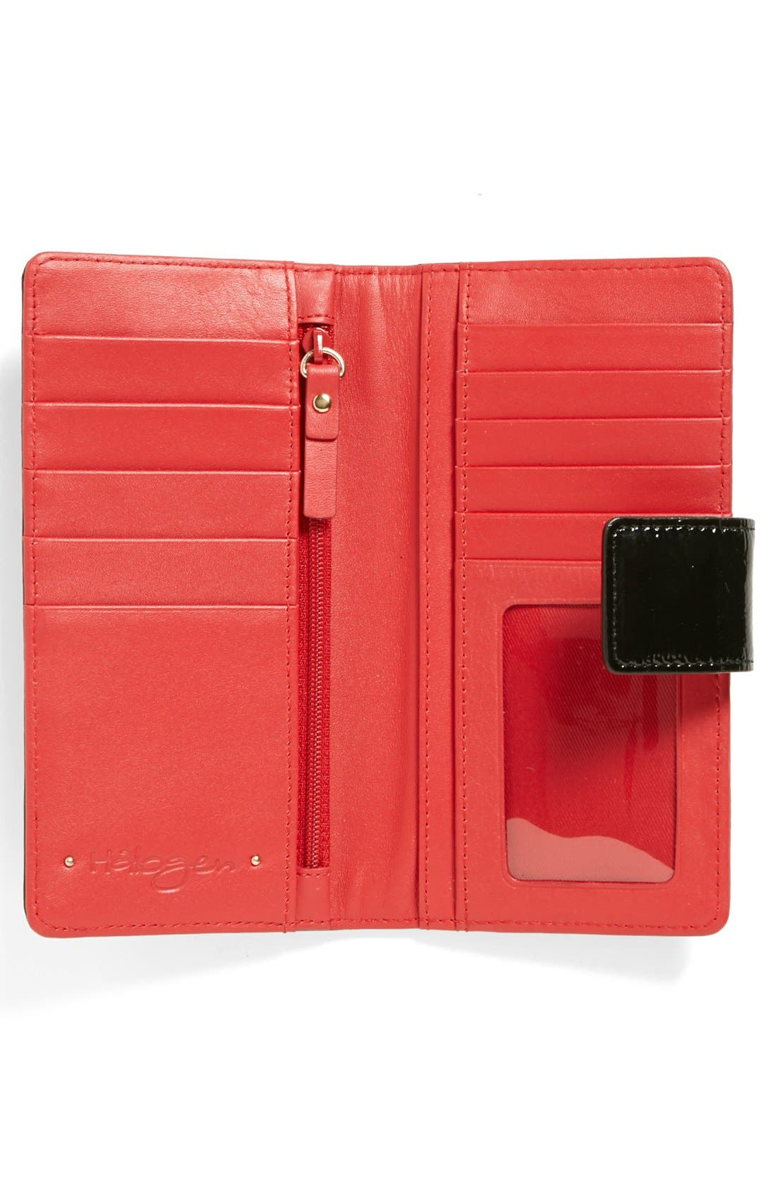 Alternate Image 2  - Halogen® 'Victoria' Patent Leather Wallet