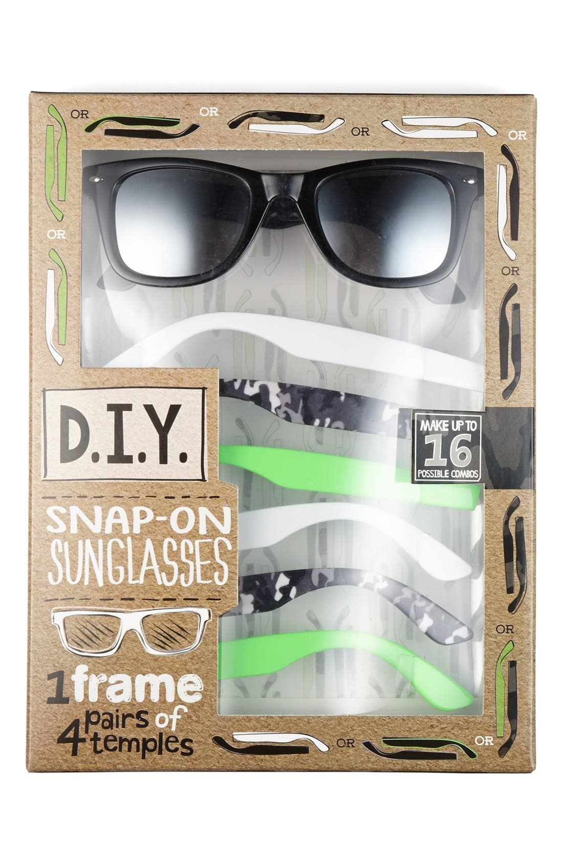 Alternate Image 1 Selected - Icon Eyewear 'D.I.Y.' Snap-On Sunglasses Kit