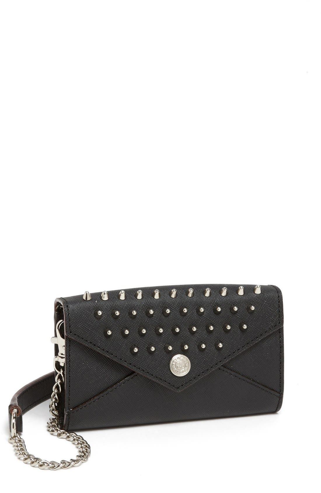 Main Image - Rebecca Minkoff 'Studded Wallet on a Chain - Mini' Crossbody Bag