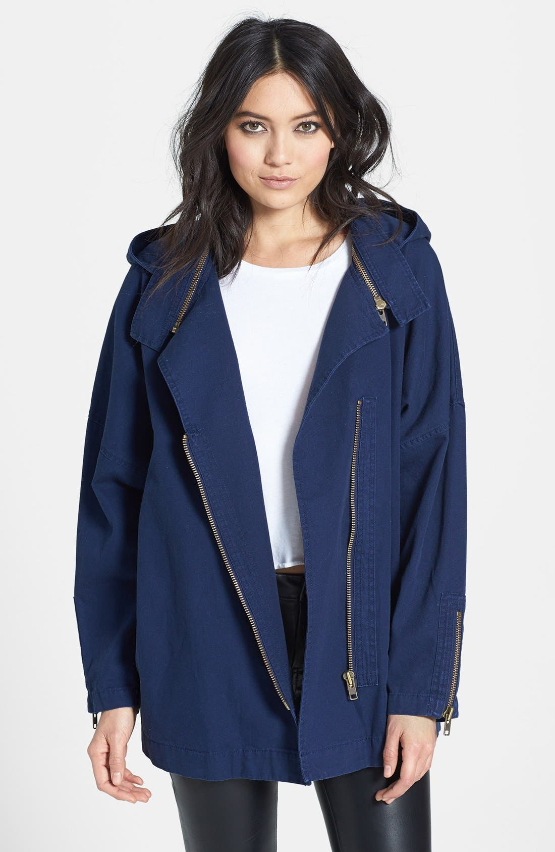 Alternate Image 1 Selected - Leith Canvas Coat