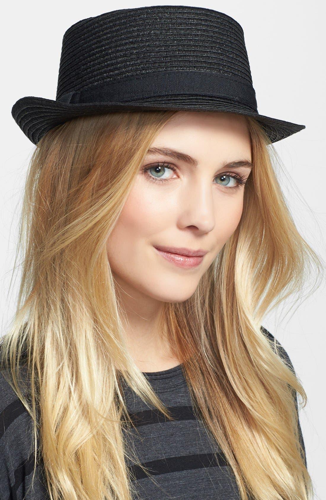 Main Image - Nordstrom Boater Hat