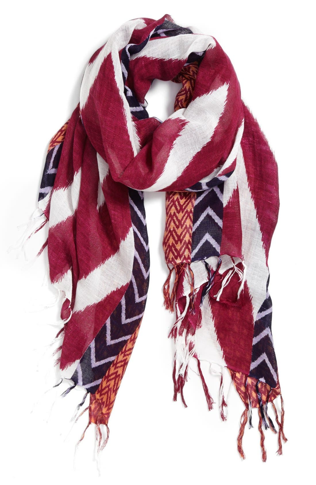 Alternate Image 1 Selected - Halogen 'Chevron Mix' Scarf