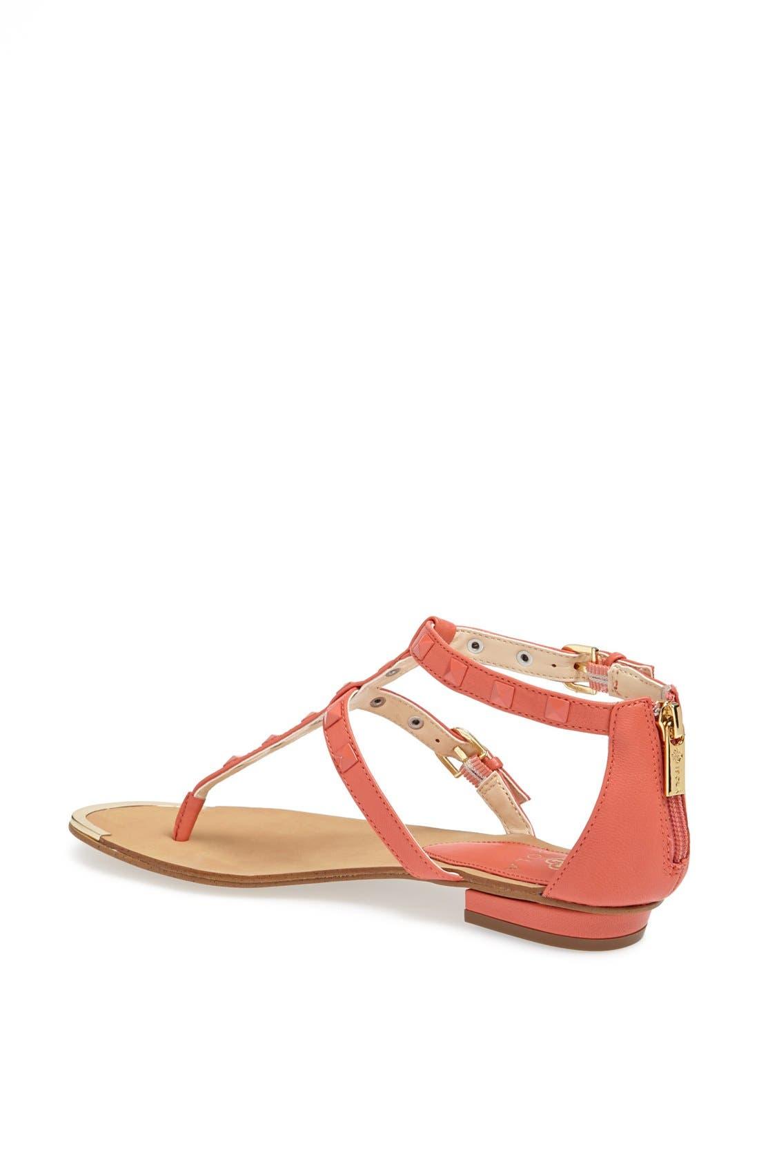 Alternate Image 2  - Isolá 'Adie' Studded Leather Thong Sandal