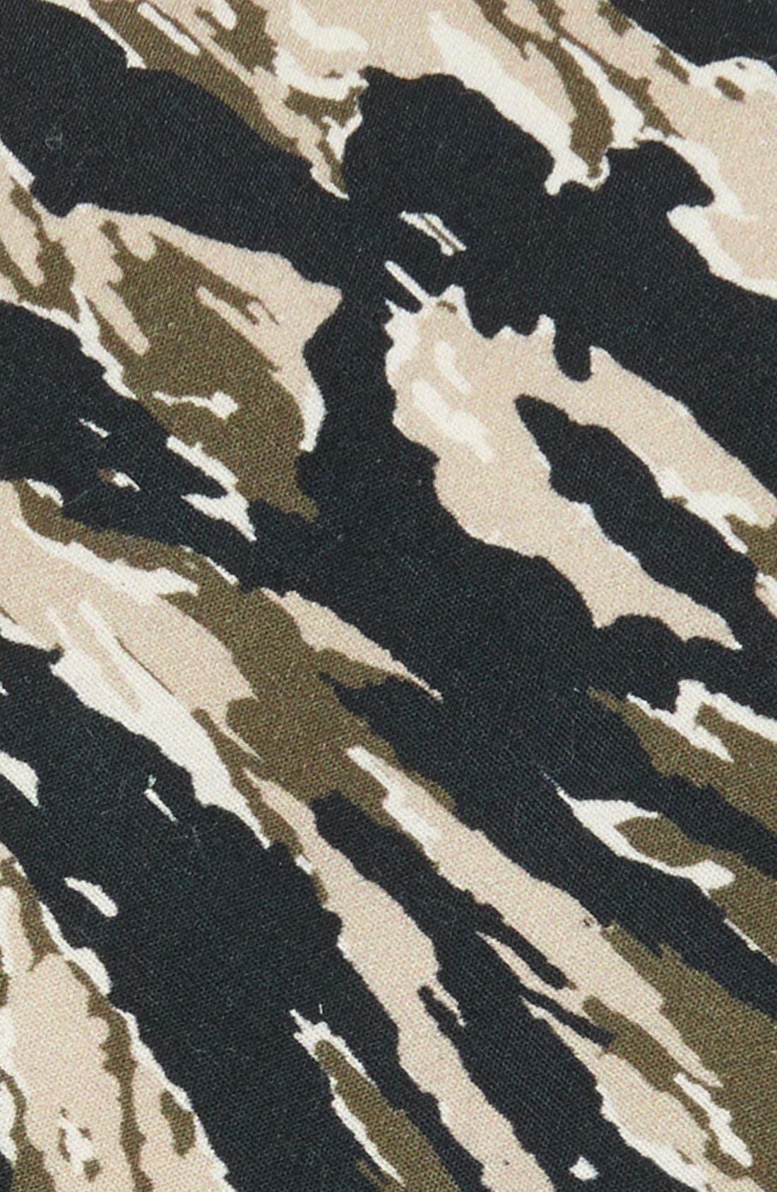Alternate Image 2  - EDIT by The Tie Bar Camo Cotton Tie (Nordstrom Exclusive)