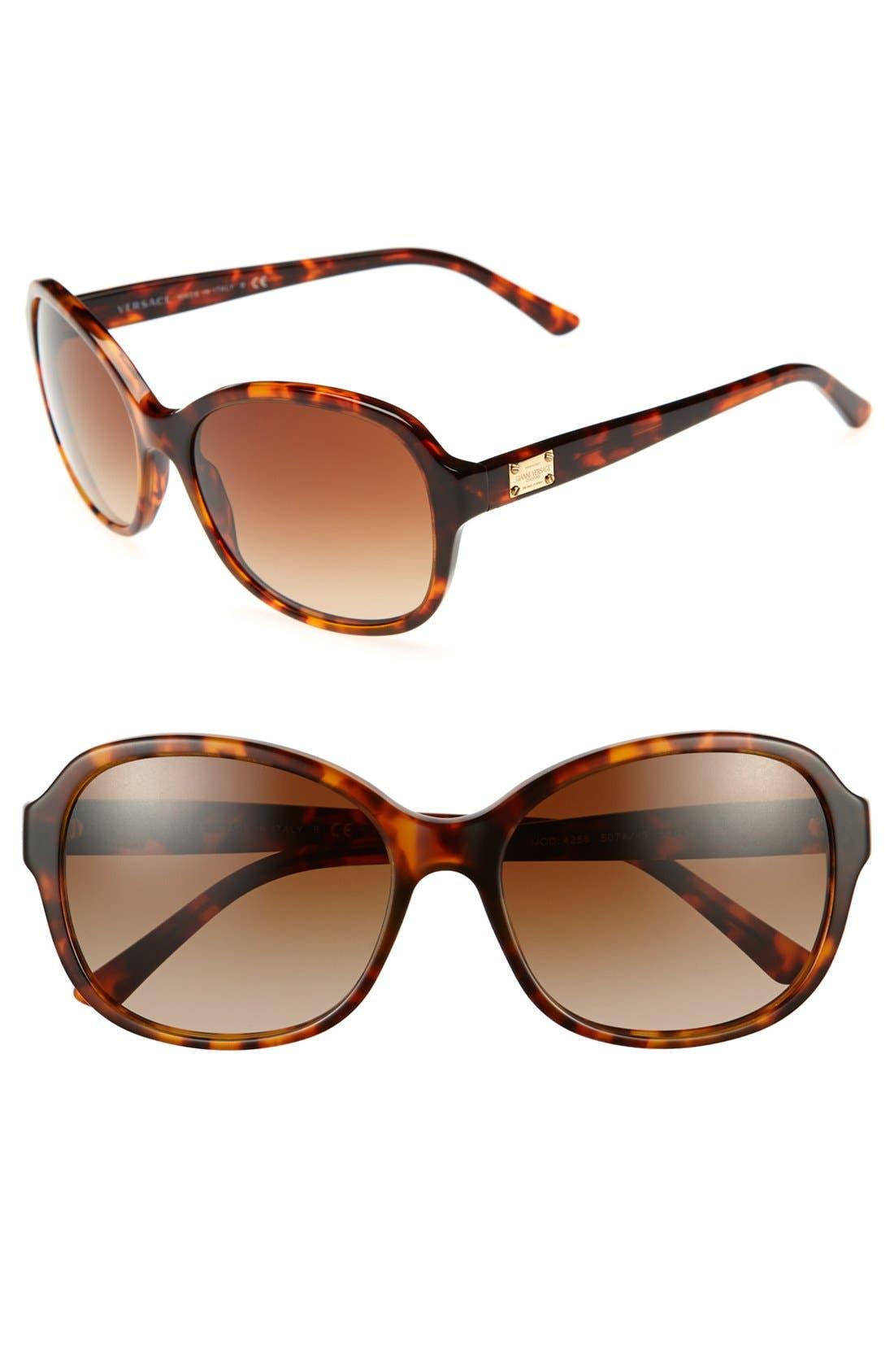 Alternate Image 1 Selected - Versace 'Pop Chic Culture' 58mm Sunglasses