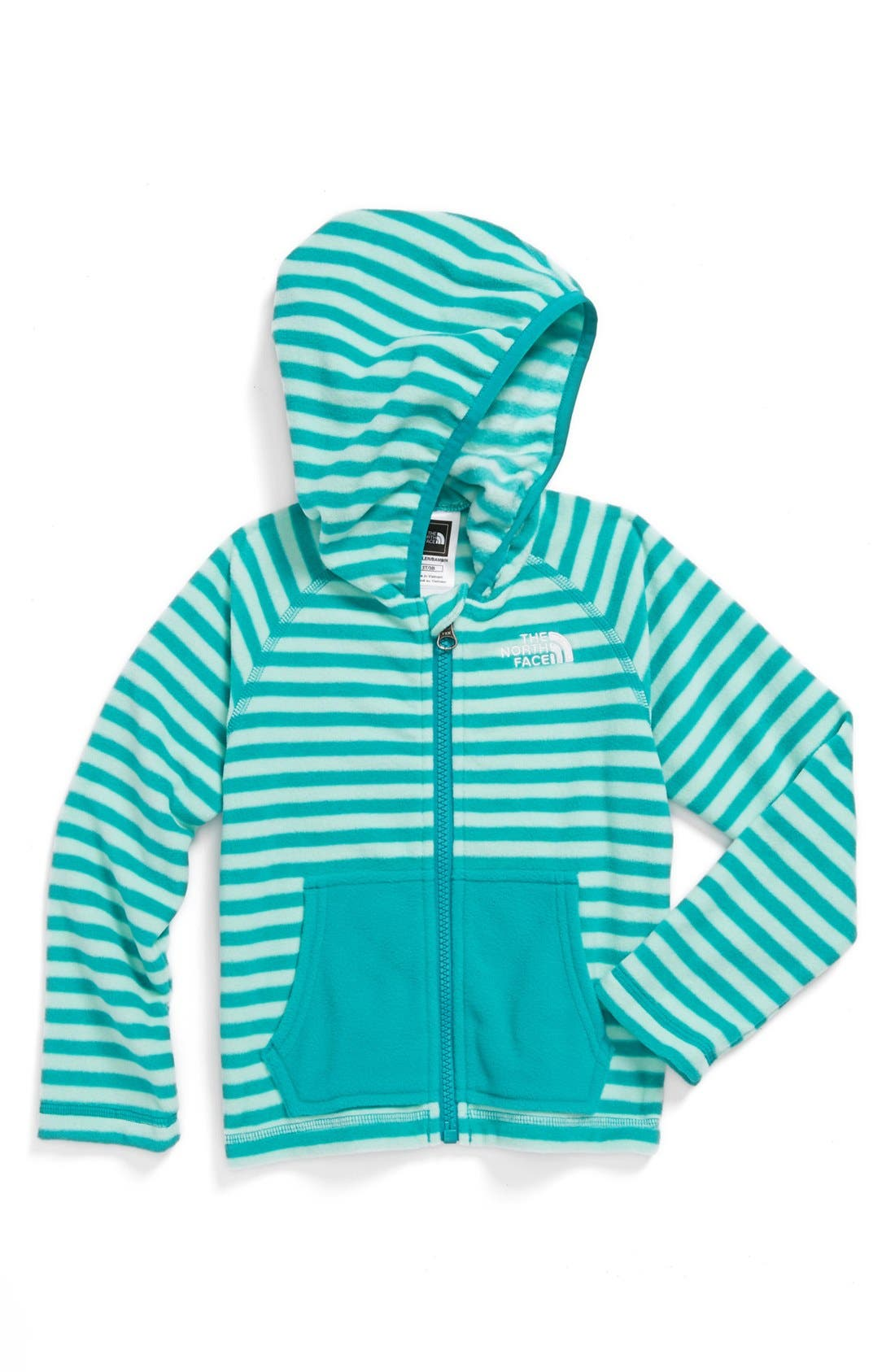 Main Image - The North Face 'Novelty Glacier' Full Zip Fleece Hoodie (Toddler Boys)