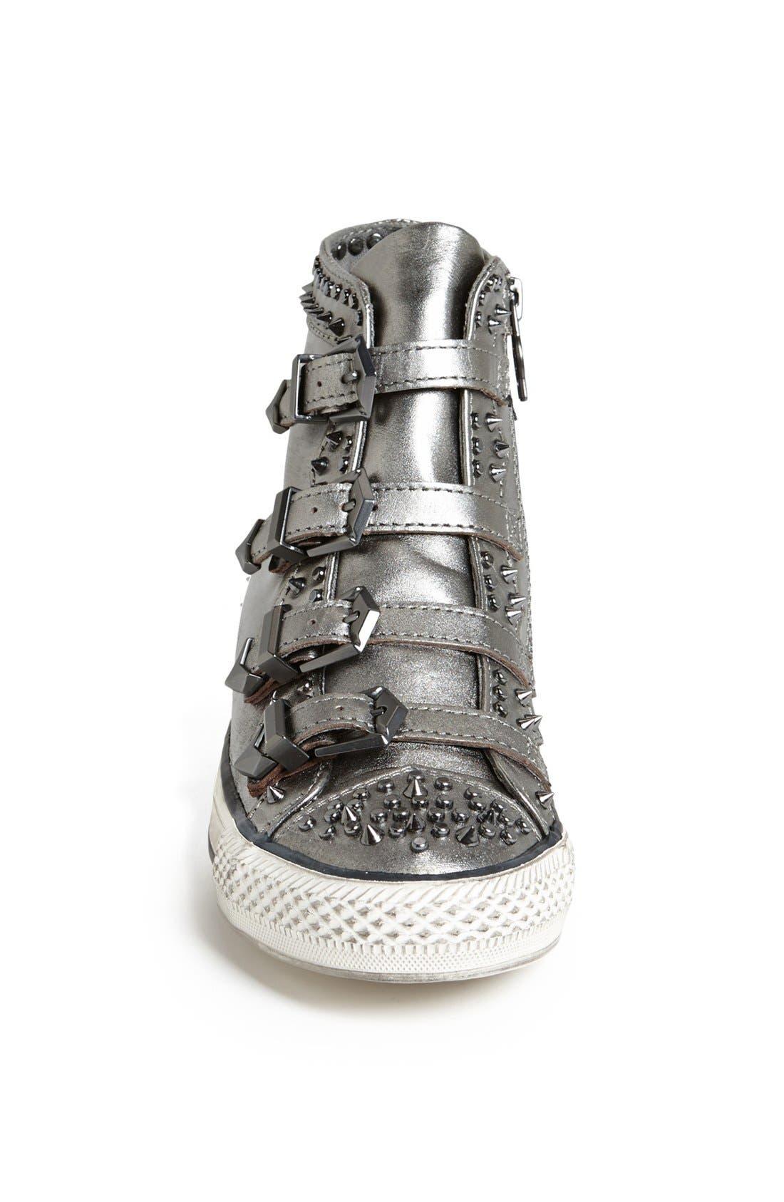 Alternate Image 3  - Ash 'Viking' Spiked Metallic Leather Sneaker