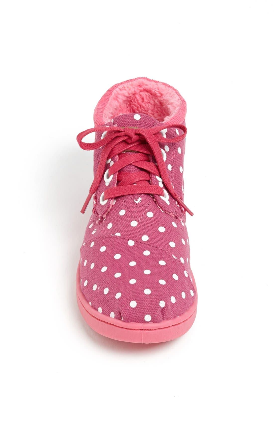 Alternate Image 3  - TOMS 'Botas - Youth' High Top Sneaker (Toddler, Little Kid & Big Kid)