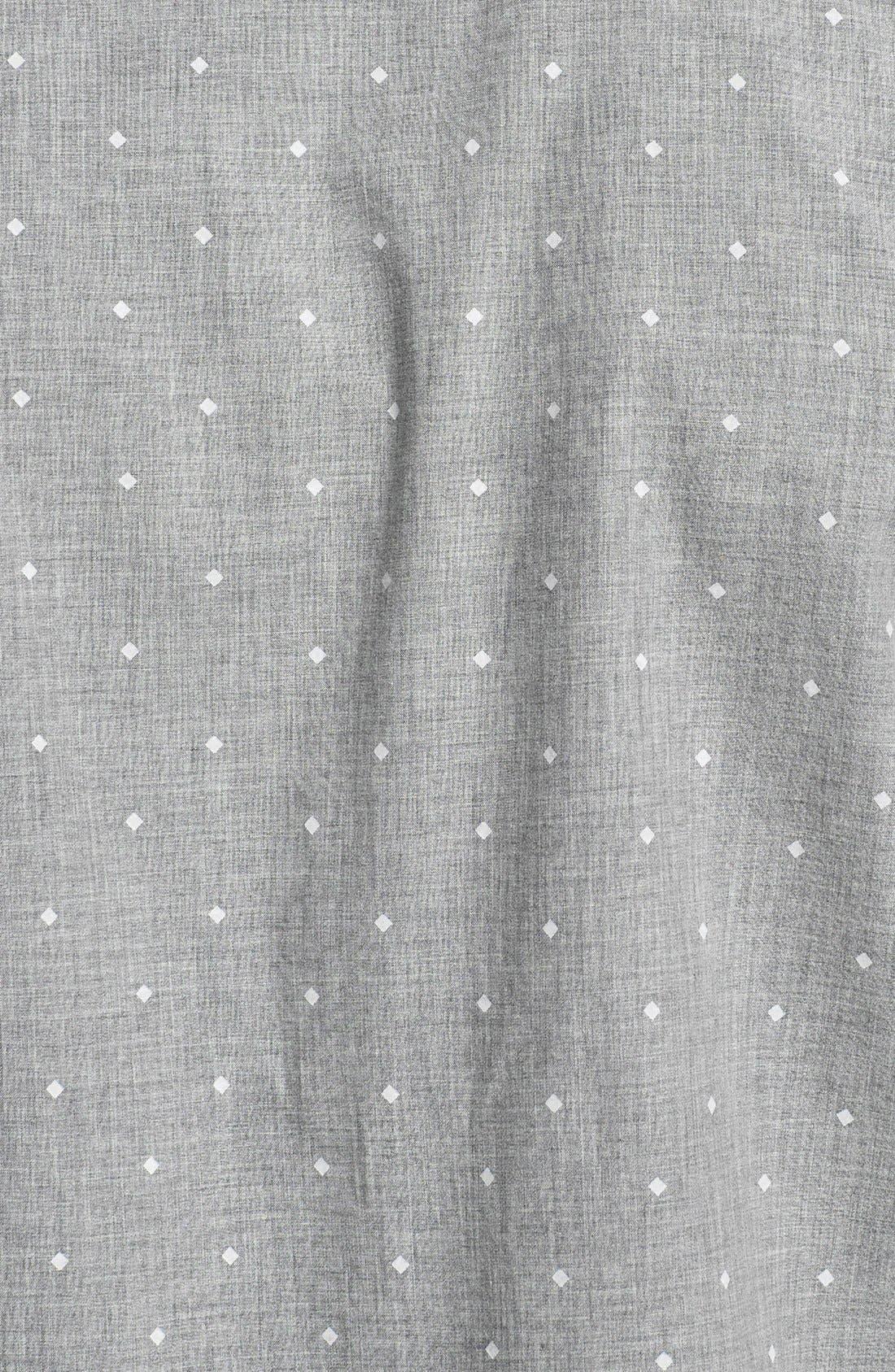 Alternate Image 3  - Original Penguin Heritage Fit Diamond Dot Print Woven Shirt