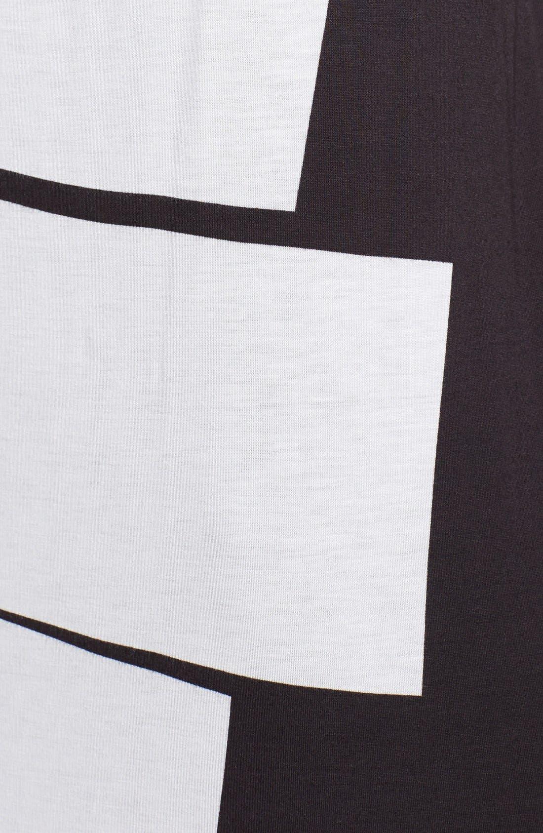 Alternate Image 3  - Helmut Lang Lithograph Print Jersey Maxi Dress