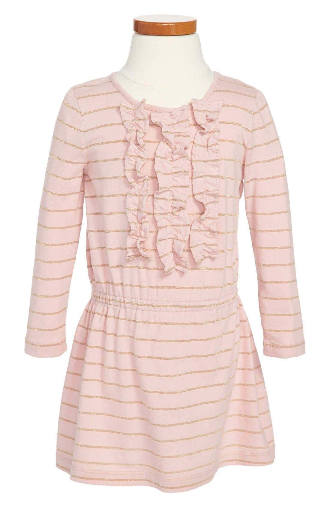 Main Image - Tucker + Tate 'Noelle' Ruffle Dress (Little Girls & Big Girls)