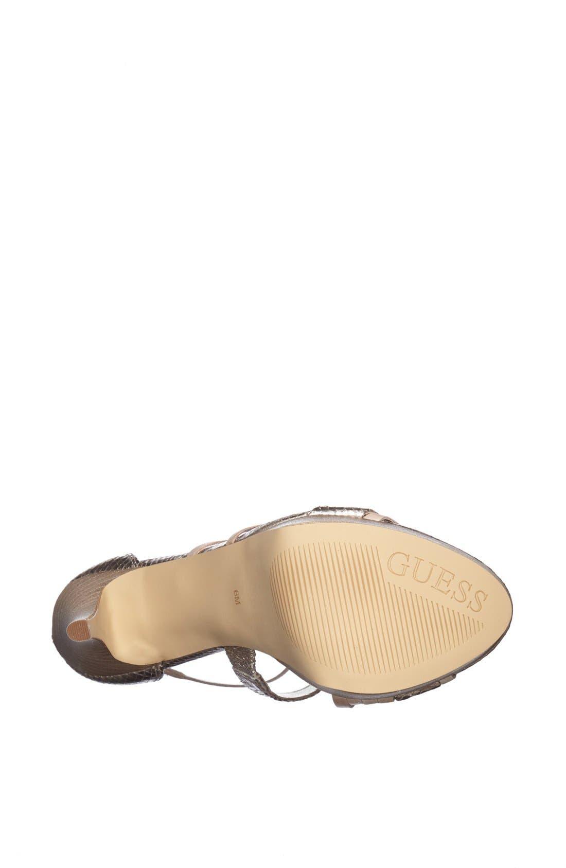 Alternate Image 4  - GUESS 'Krislyn3' Sandal