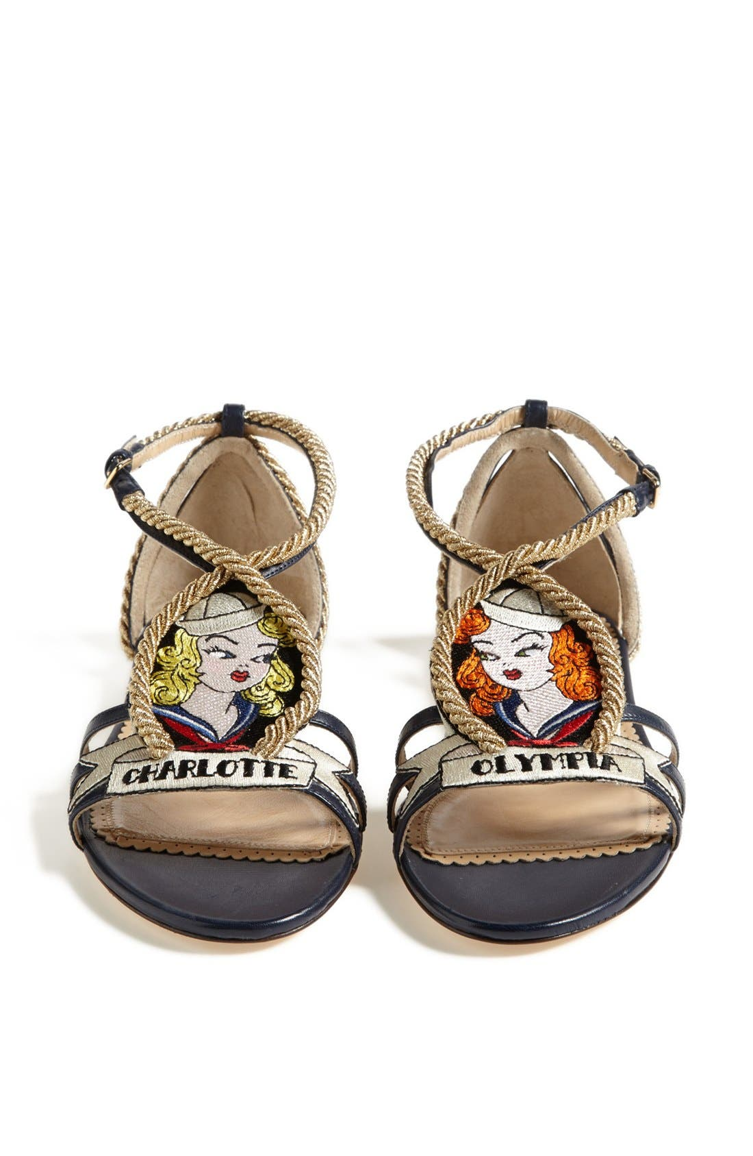 Alternate Image 5  - Charlotte Olympia 'Ahoy Sailor' Sandal