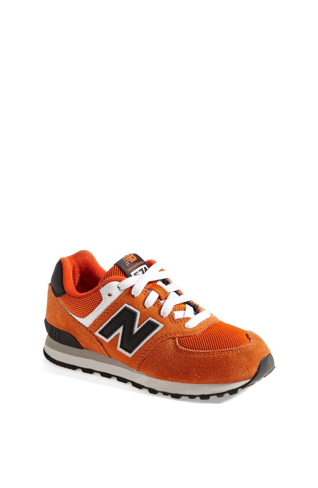 Alternate Image 1 Selected - New Balance '574 Varsity' Sneaker (Walker)