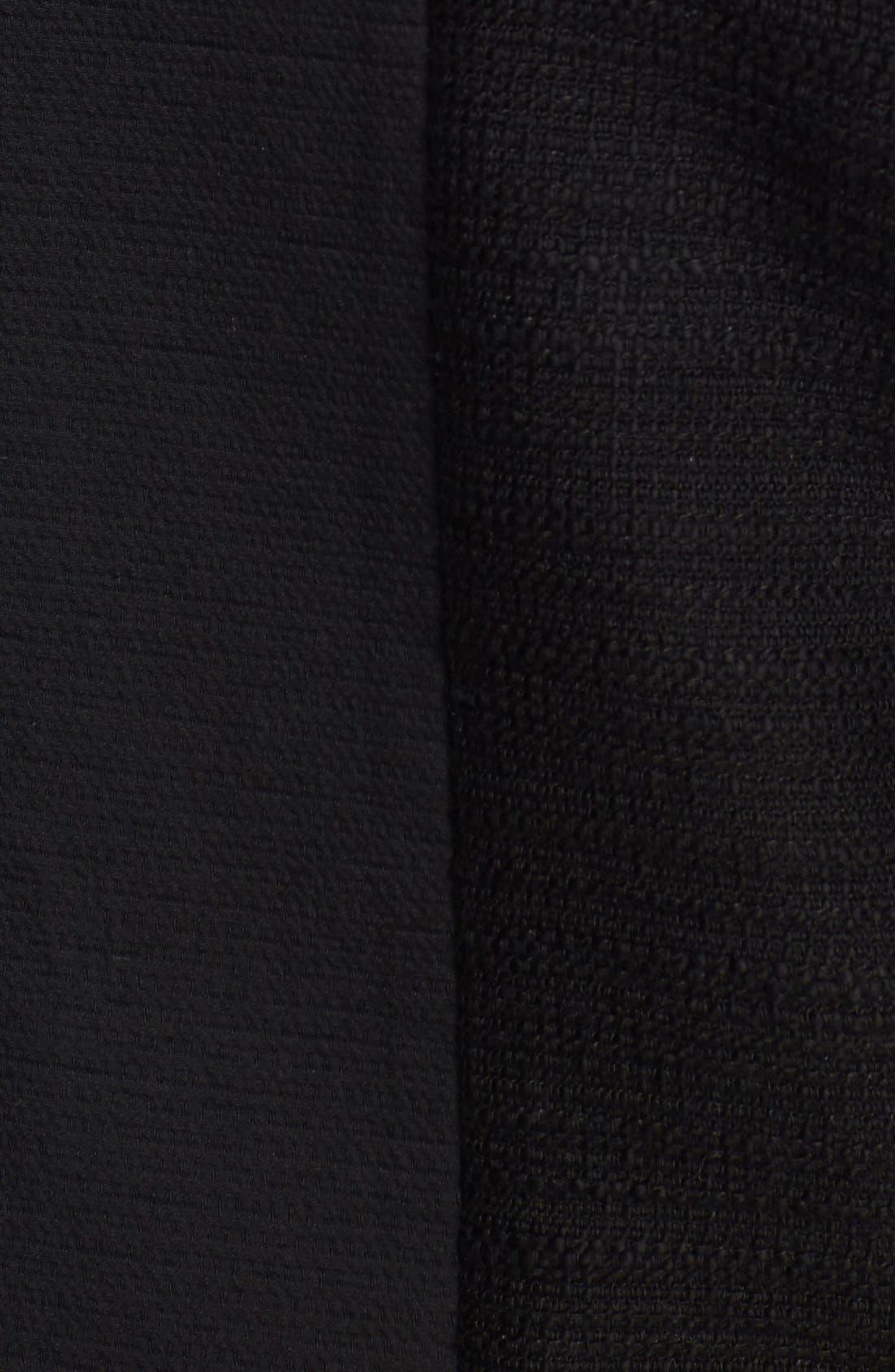 Alternate Image 3  - Halogen® Mixed Media Zip Jacket