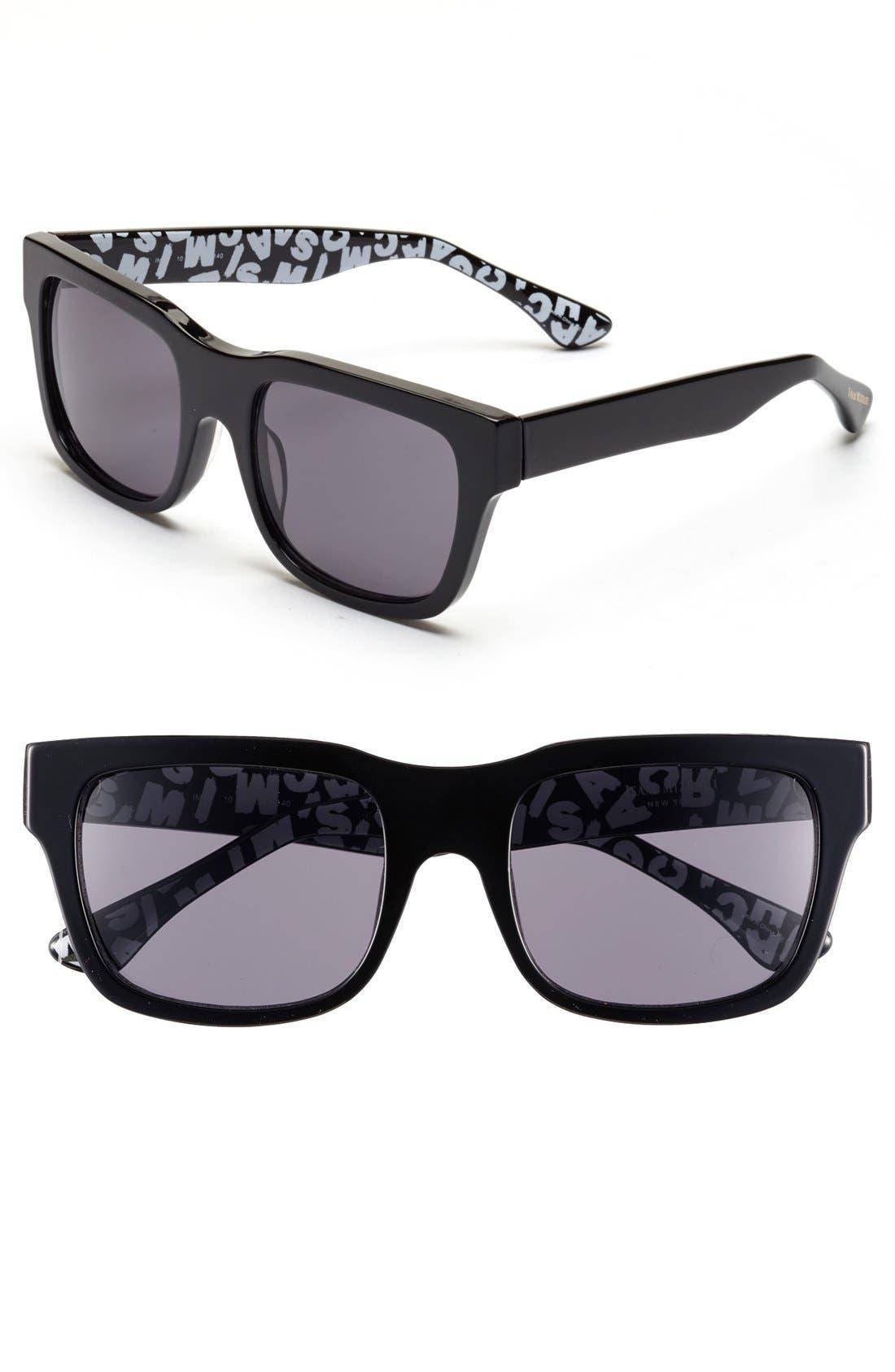 Main Image - Isaac Mizrahi New York 53mm Retro Sunglasses