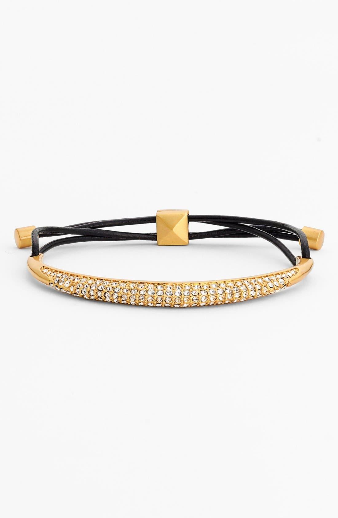 Alternate Image 1 Selected - Vince Camuto 'Caviar Dreams' Pavé Bracelet