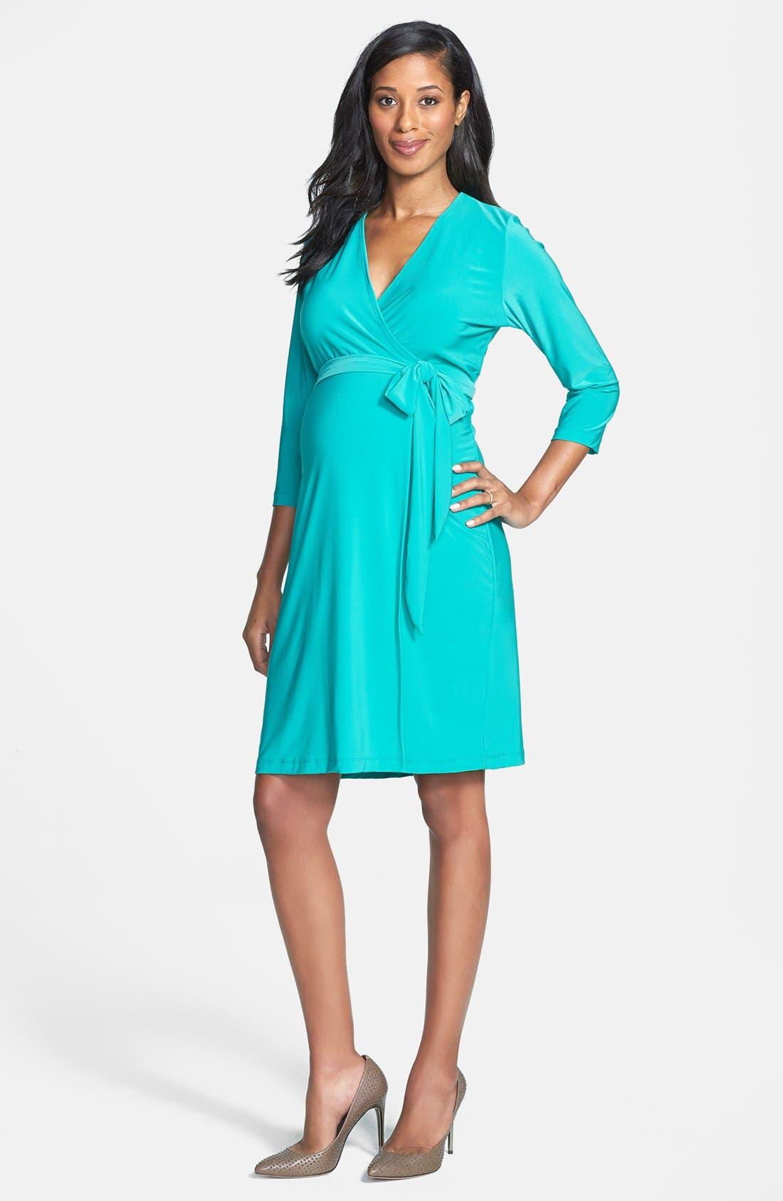 Main Image - Japanese Weekend Jersey Wrap Dress