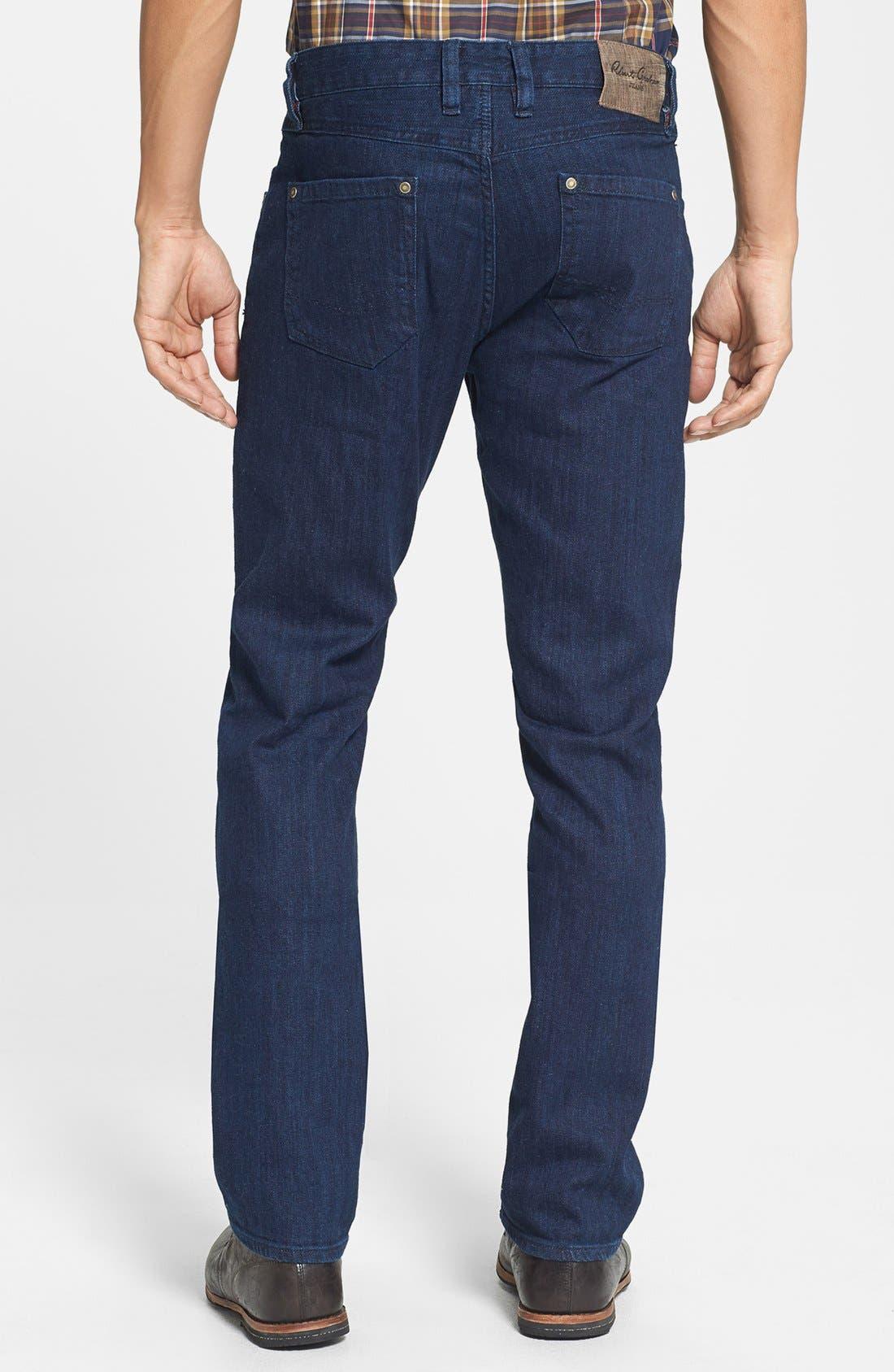 Alternate Image 2  - Robert Graham 'Mad Hatter' Slim Fit Straight Leg Jeans