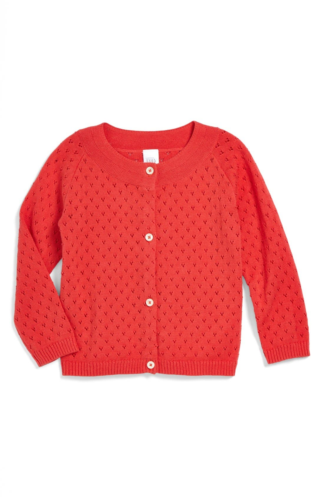 Alternate Image 1 Selected - Nordstrom Baby Pointelle Cardigan (Baby Girls)