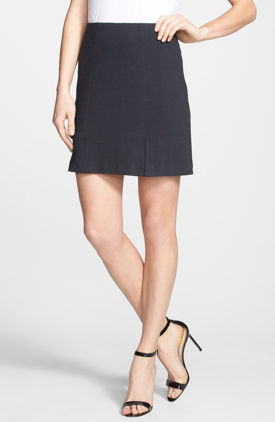 Alternate Image 1 Selected - Rebecca Taylor Textured Skirt
