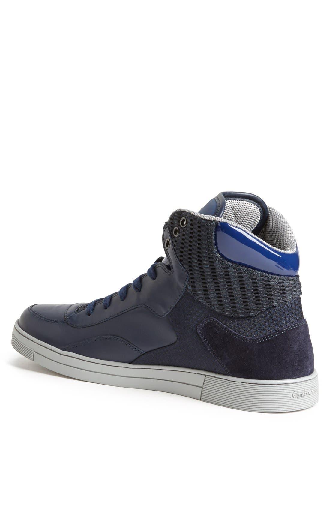 Alternate Image 2  - Salvatore Ferragamo 'Robert' High Top Sneaker