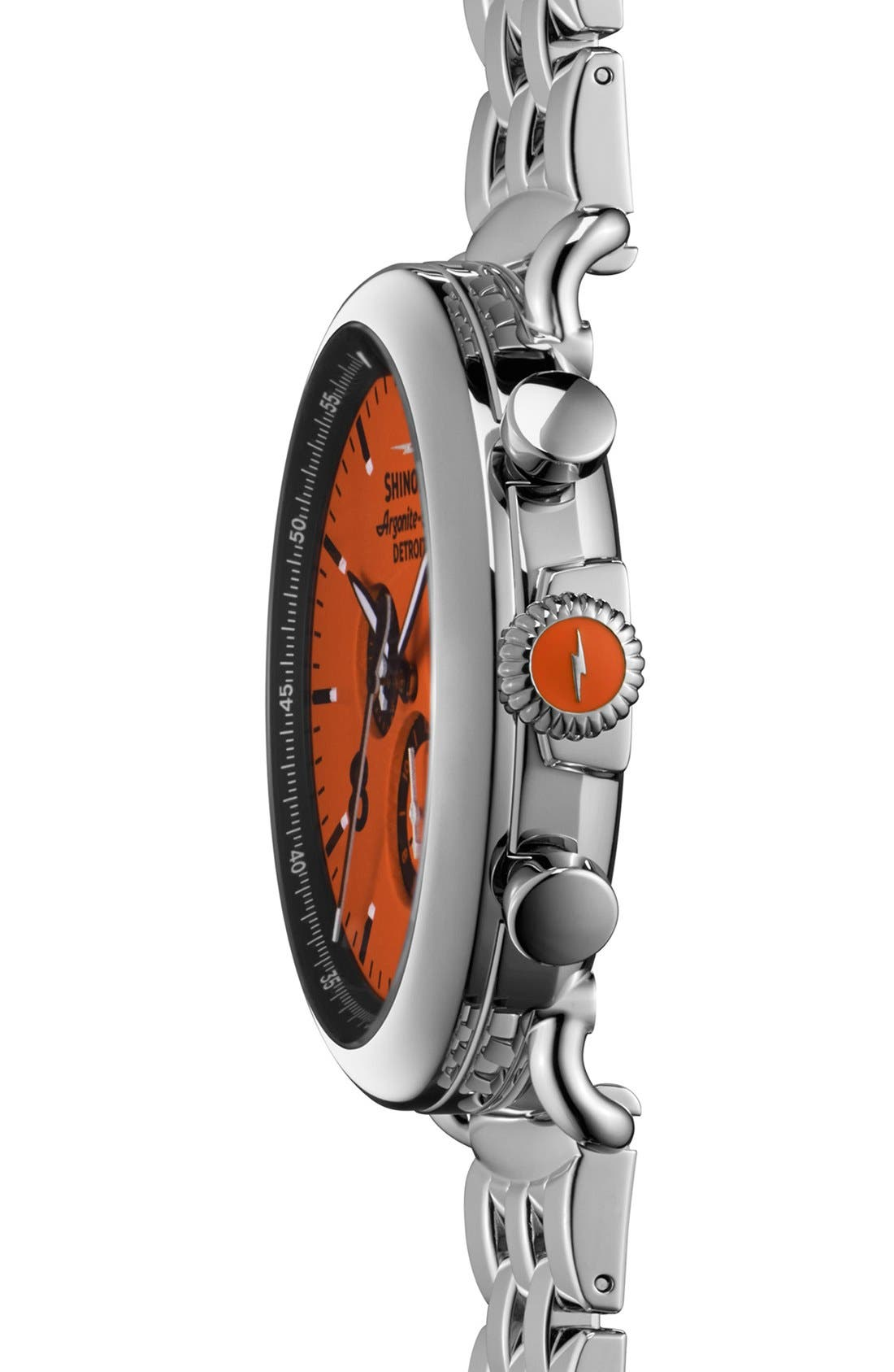 Alternate Image 3  - Shinola 'The Runwell Chrono - Sport' Bracelet Watch, 47mm