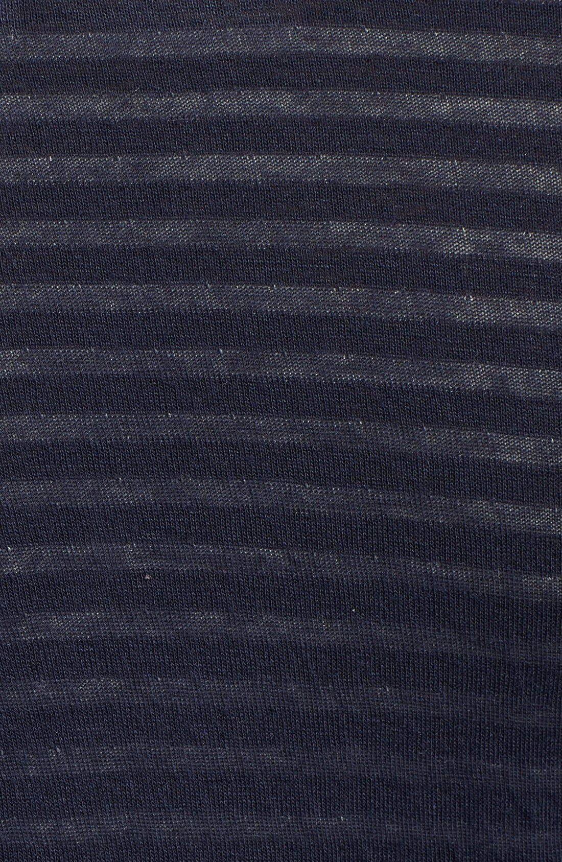 Alternate Image 3  - Whetherly 'Rosewood' Stripe Double Knit Jersey Top