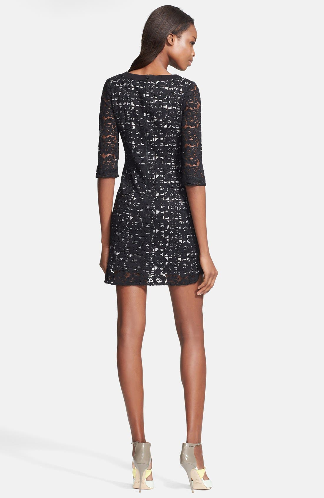 Alternate Image 2  - Tracy Reese Lace Print Lace Dress