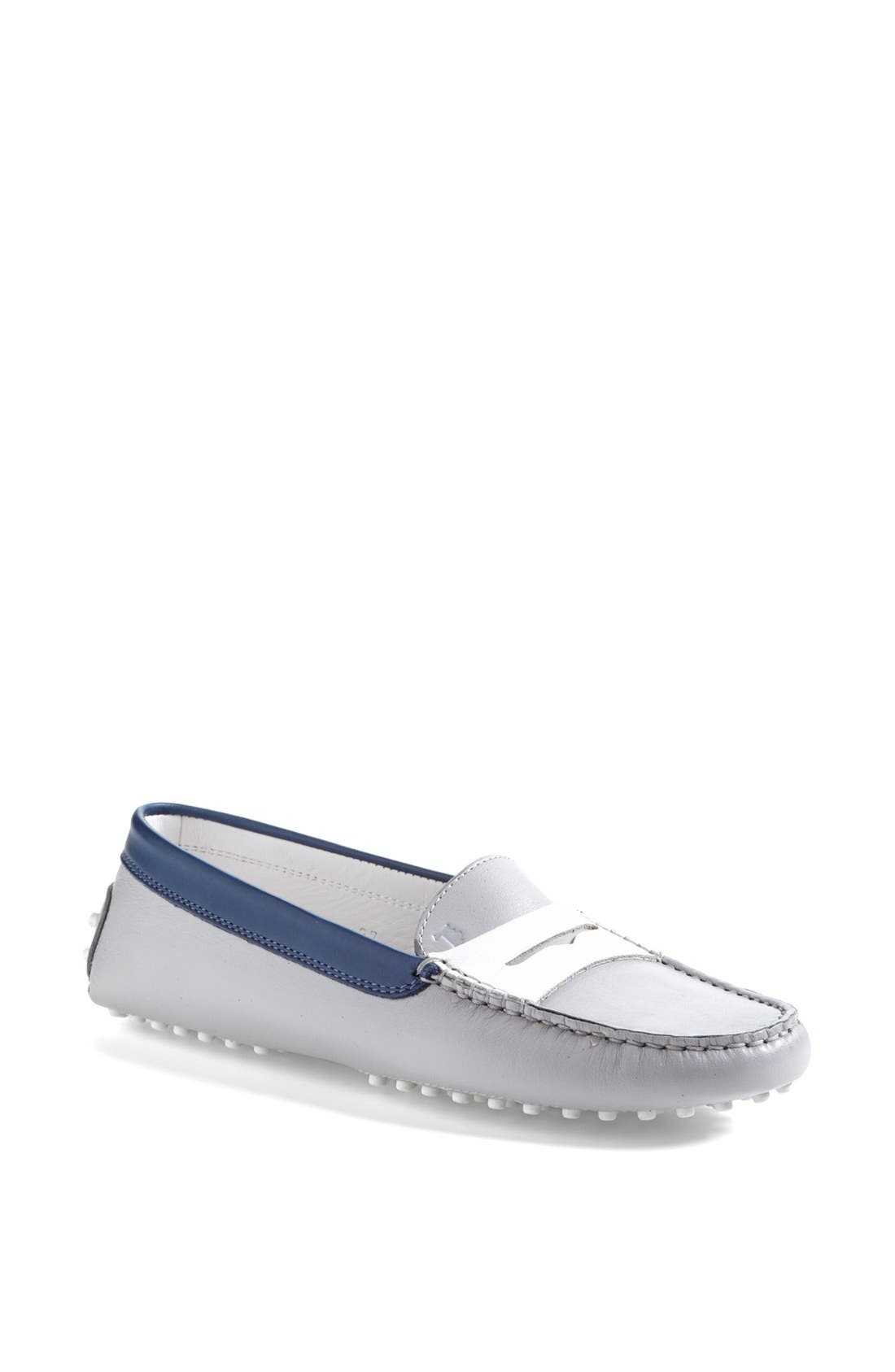 Alternate Image 1 Selected - Tod's 'Gommini' Colorblocked Leather Driving Moccasin