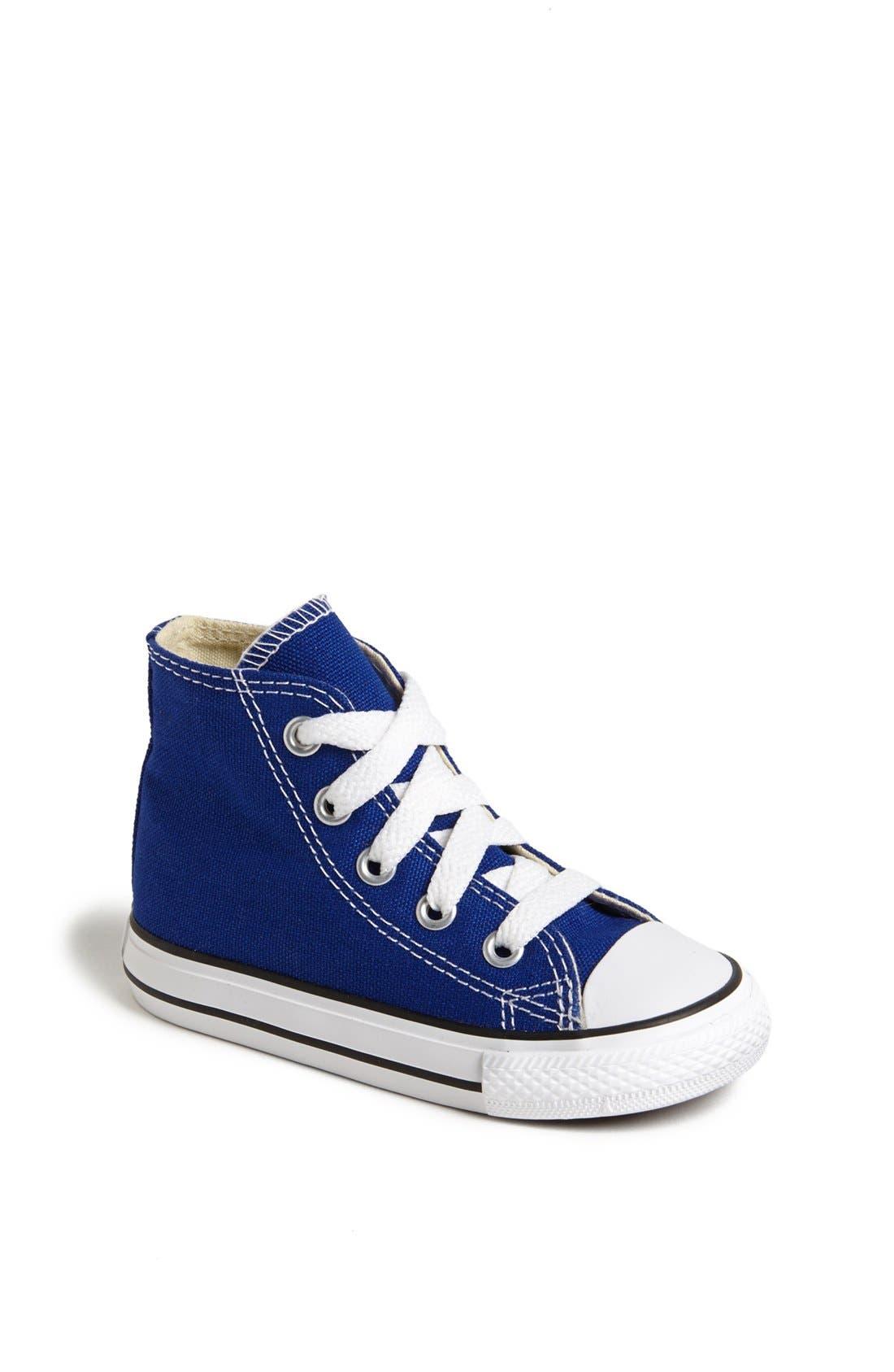 Main Image - Converse Chuck Taylor® All Star® High Top Sneaker (Baby, Walker, Toddler & Little Kid)