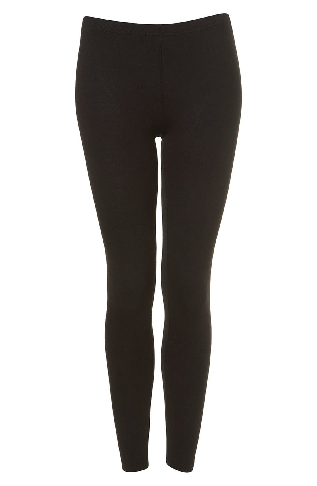 Alternate Image 3  - Topshop Ankle Leggings