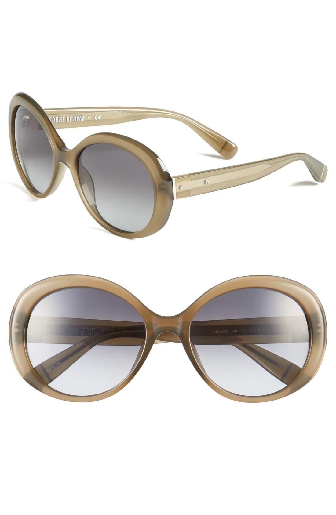 Alternate Image 1 Selected - Bobbi Brown 'The Ali' 56mm Sunglasses