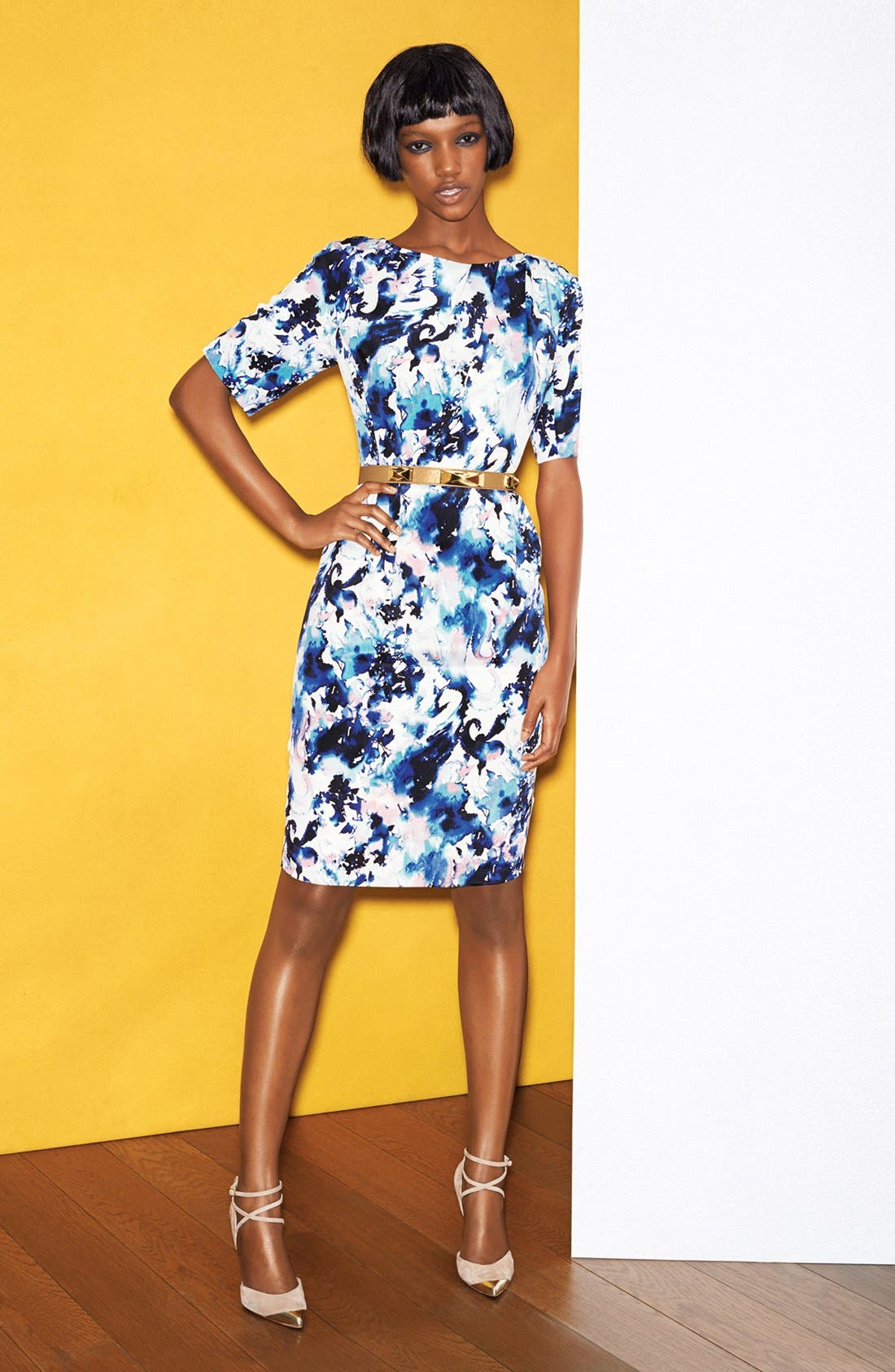 Main Image - St. John Collection Dress & Accessories