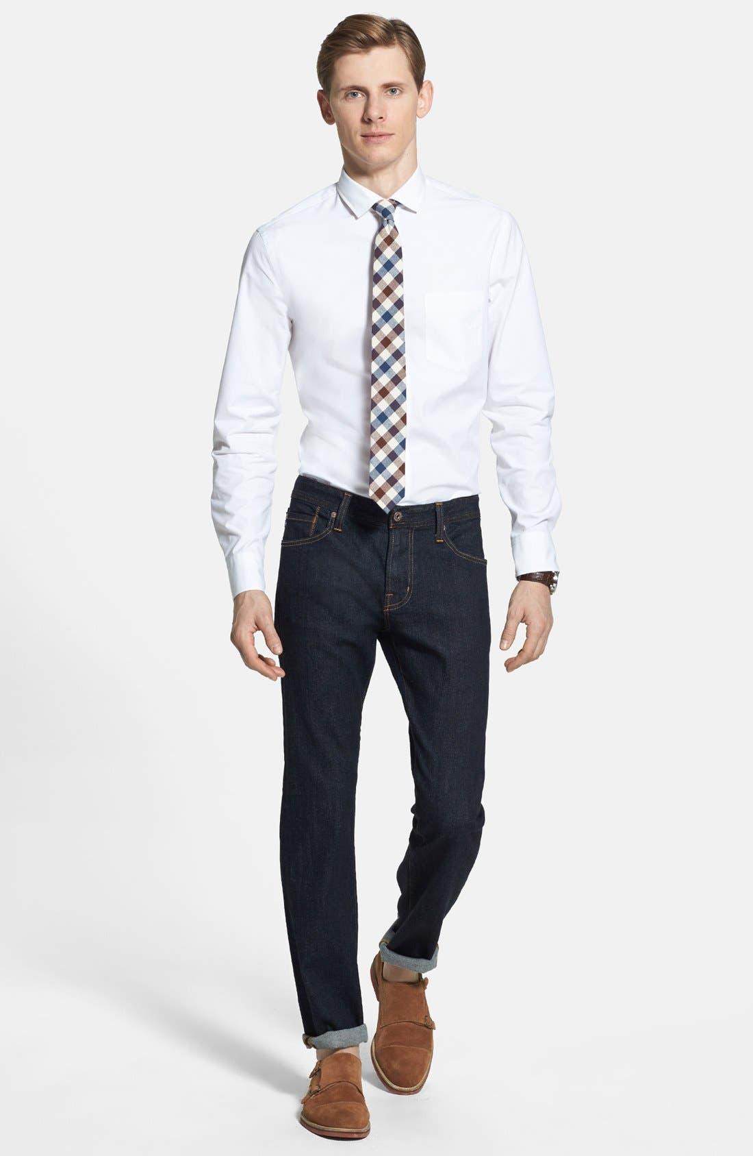 Alternate Image 9  - AG 'Graduate' Slim Straight Leg Jeans (Jack) (Regular & Tall)
