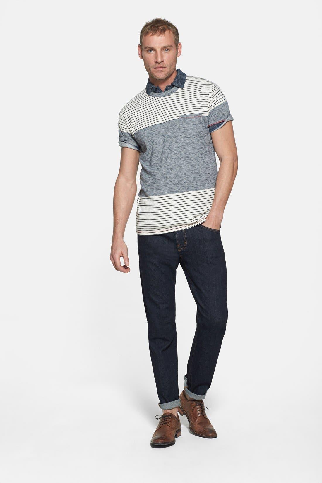 Alternate Image 10  - AG 'Graduate' Slim Straight Leg Jeans (Jack) (Regular & Tall)