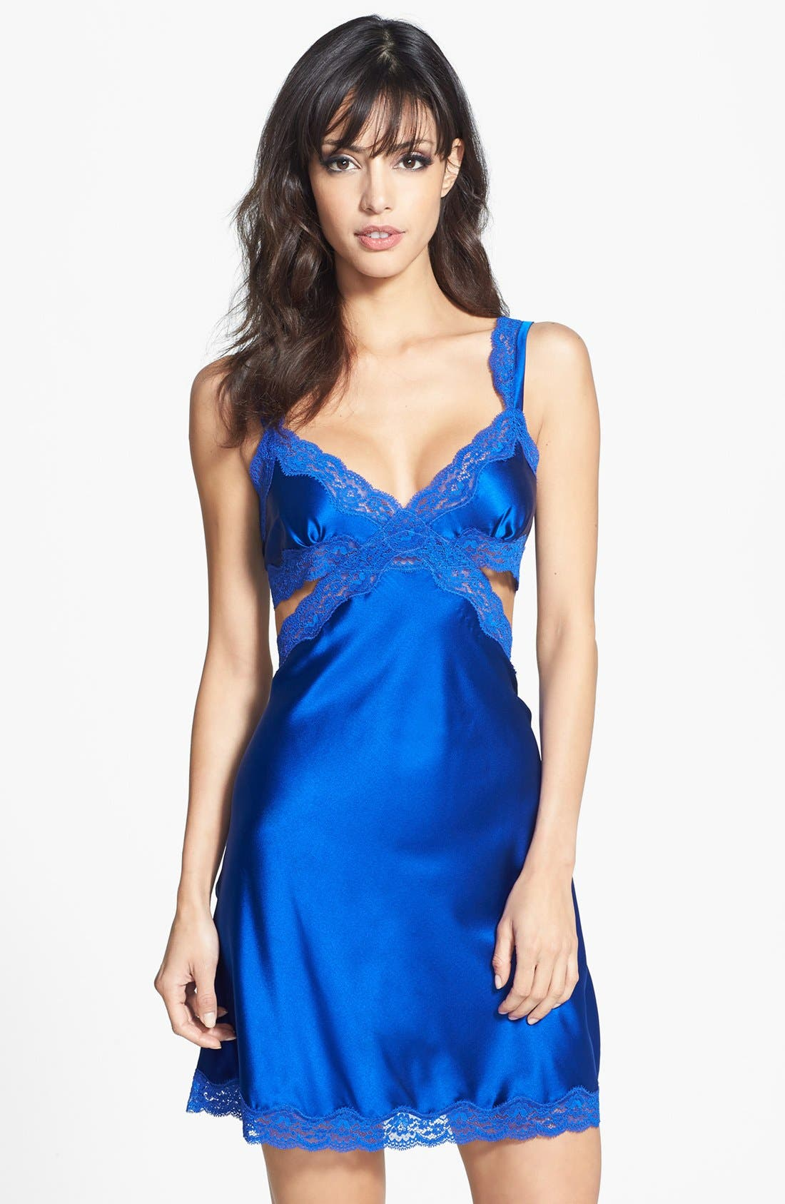 Alternate Image 1 Selected - Stella McCartney 'Clara Whispering' Silk Chemise