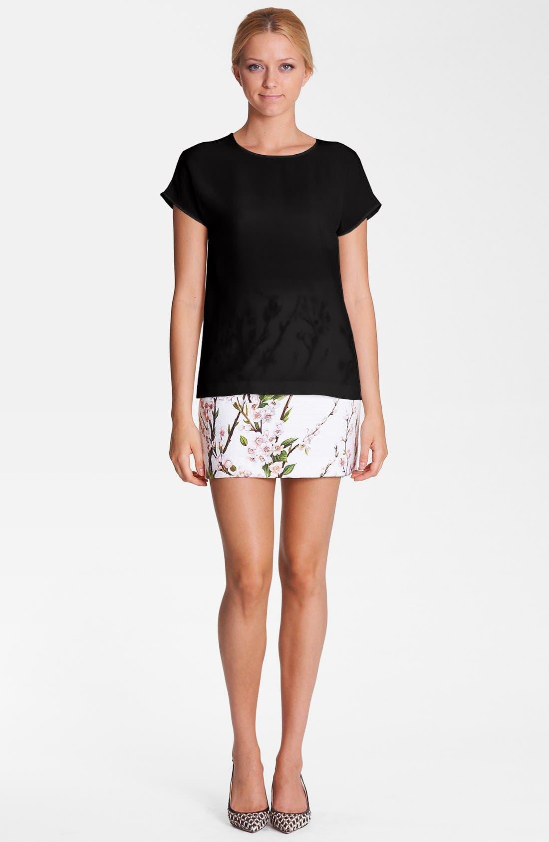 Alternate Image 1 Selected - Dolce&Gabbana Silk Blouse