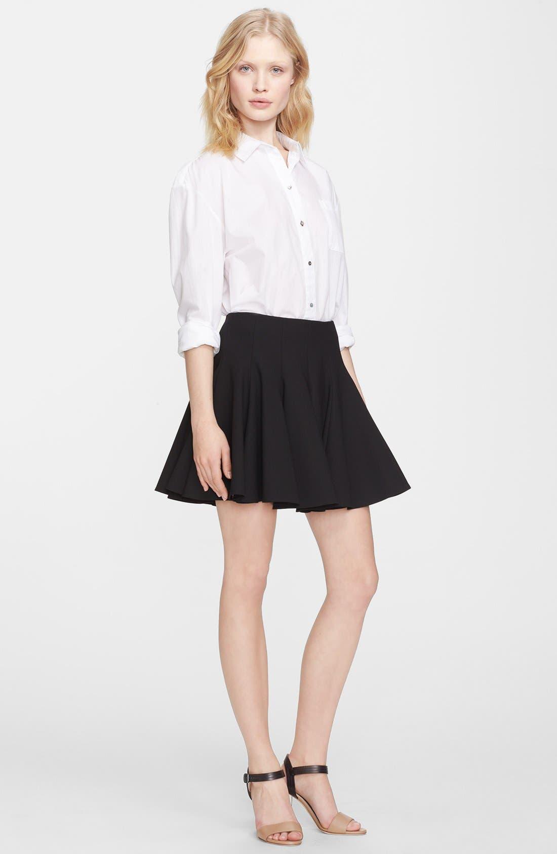 Alternate Image 4  - Elizabeth and James 'Morrison' Flared Stretch Skirt