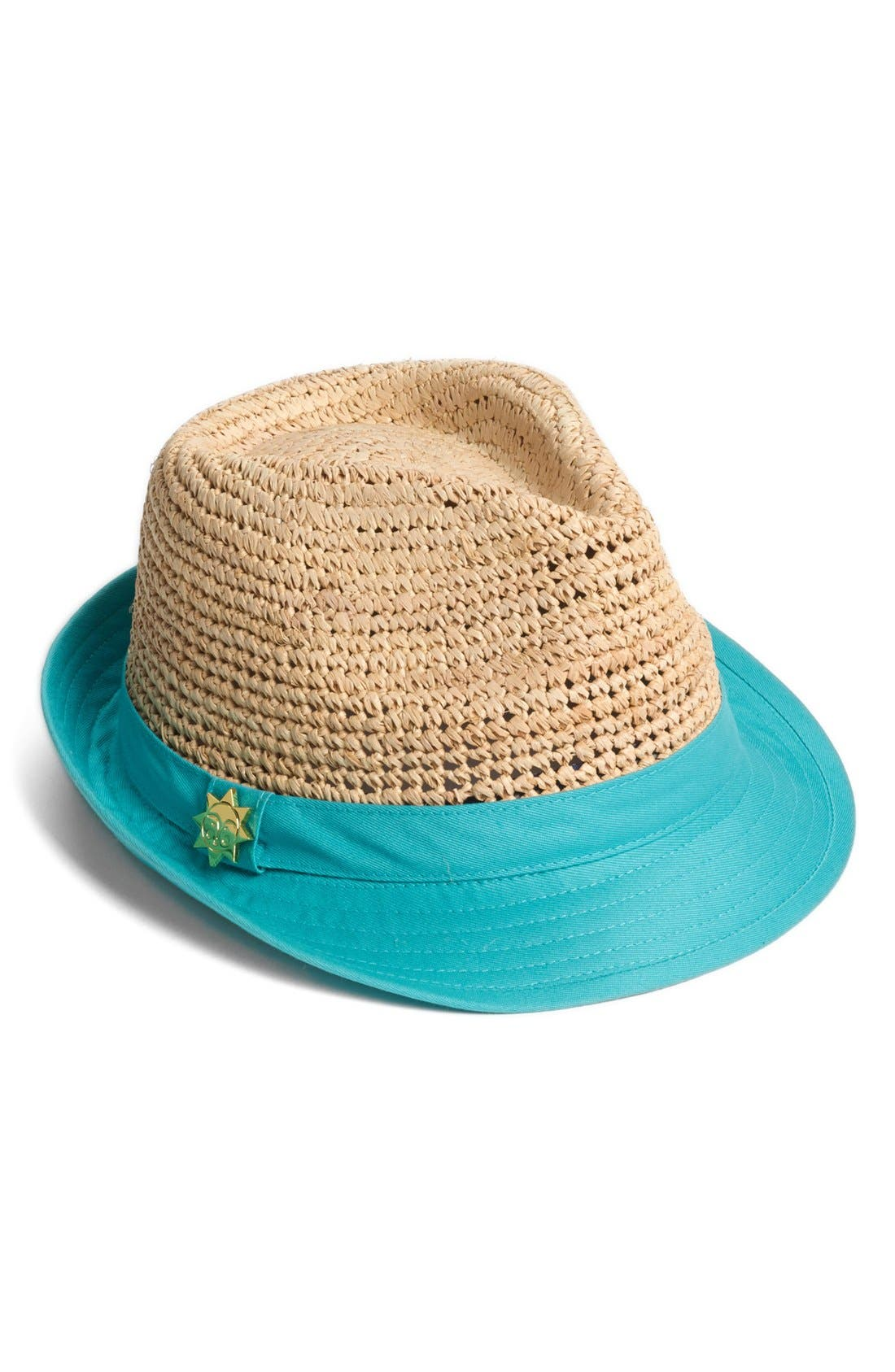 Alternate Image 1 Selected - Jonathan Adler 'Crushable' Contrast Brim Fedora