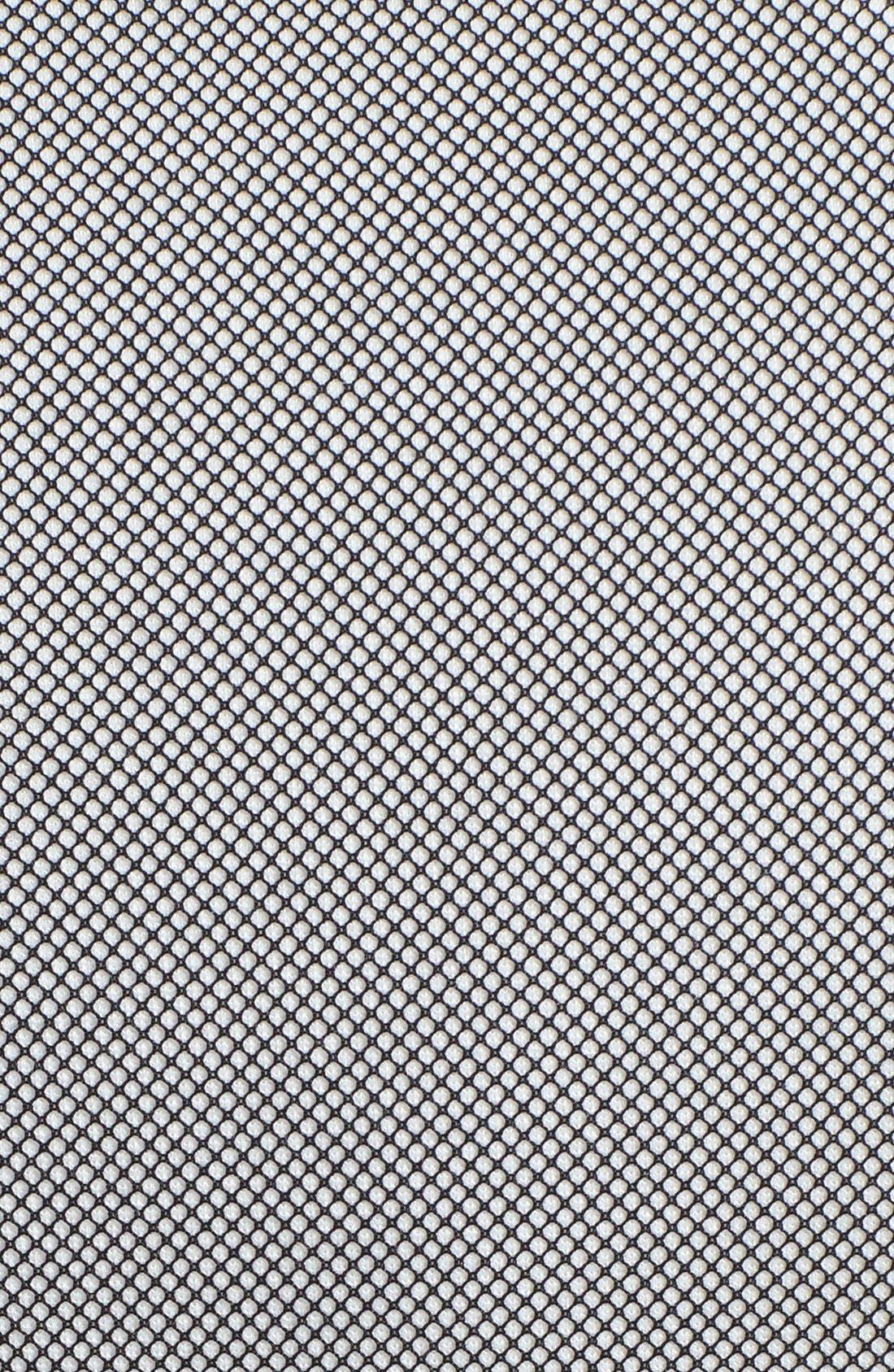 Alternate Image 3  - Trina Turk 'Milena' Mesh Panel Ponte Dress