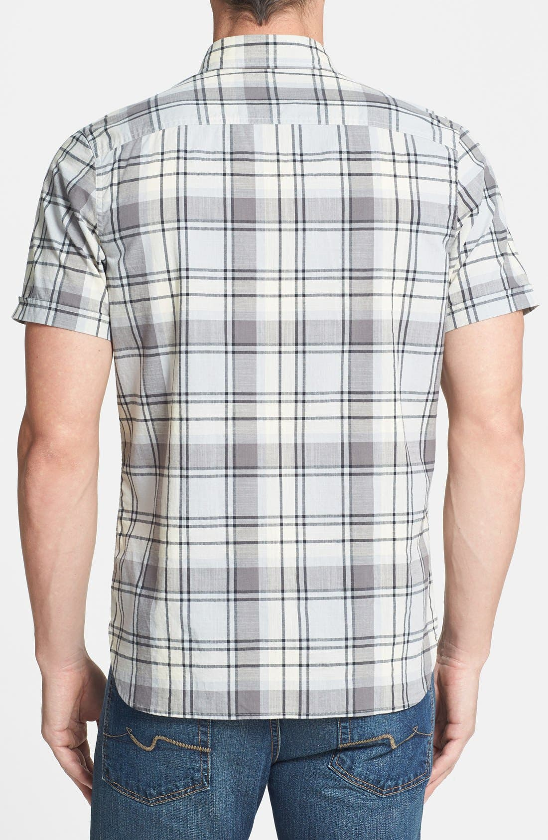 Alternate Image 2  - Wallin & Bros. 'Signature' Trim Fit Sport Shirt