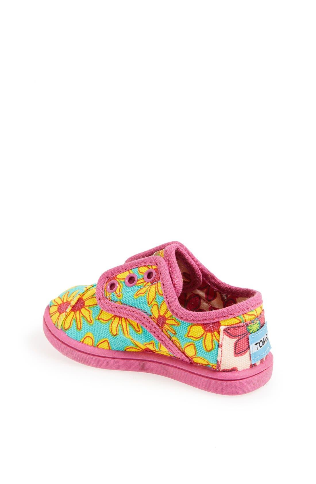Alternate Image 2  - TOMS 'Cordones - Tiny' Slip-On Sneaker (Baby, Walker & Toddler)