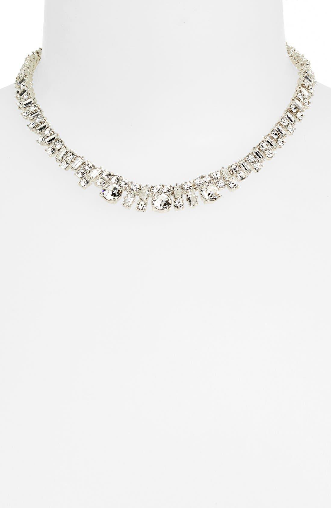 Alternate Image 2  - kate spade new york 'estate sale' crystal collar necklace