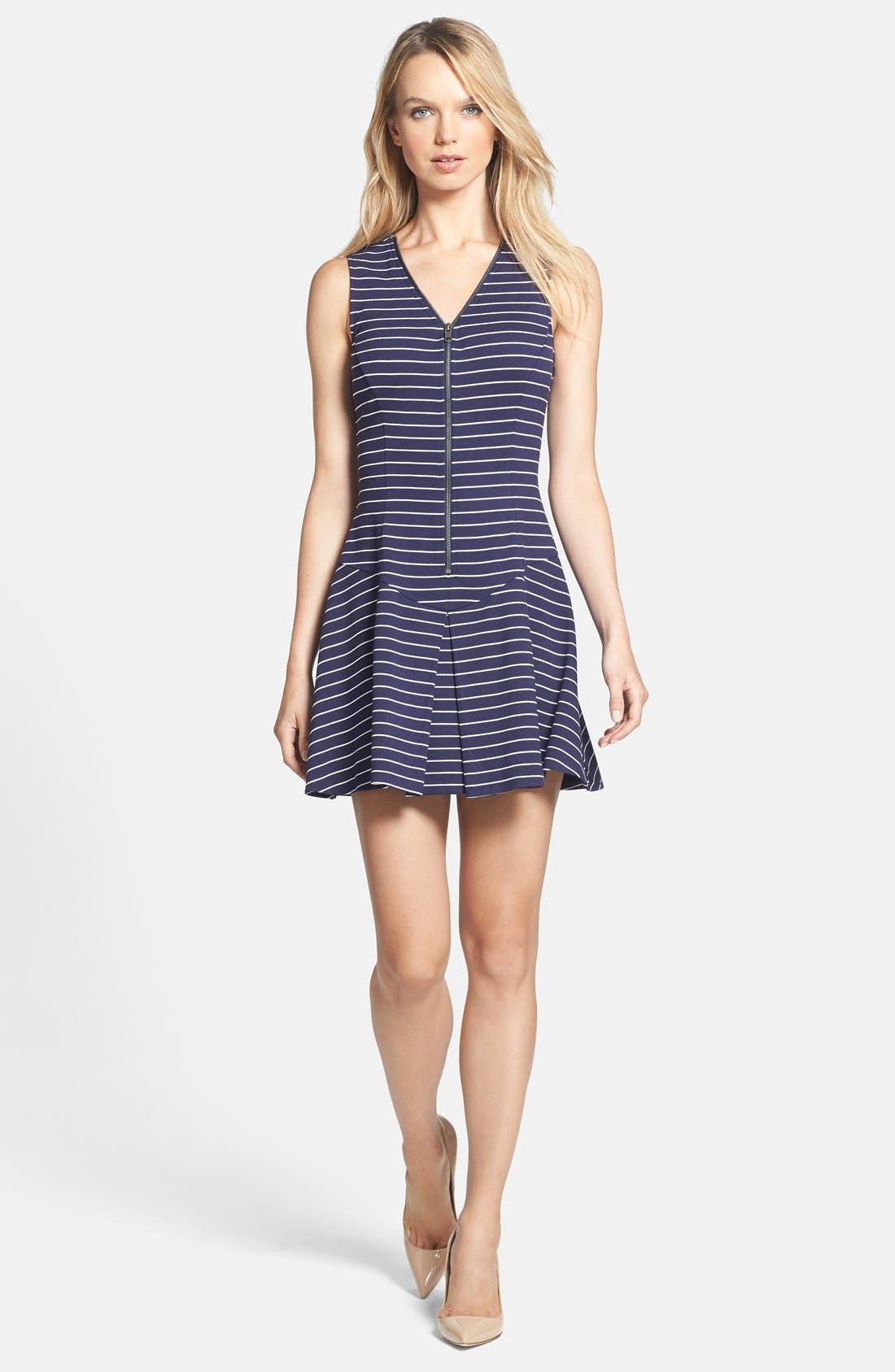 Alternate Image 1 Selected - Theory 'Sayidres' Knit Fit & Flare Dress