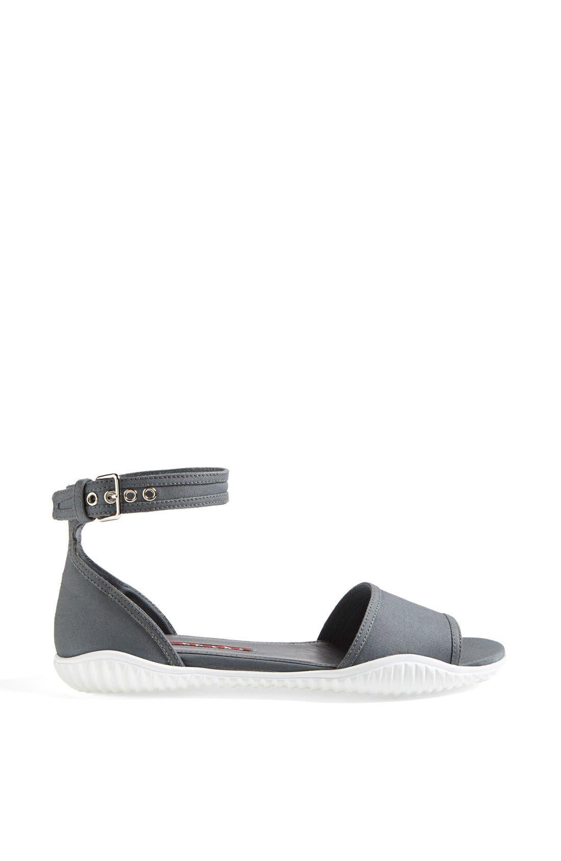 Alternate Image 4  - Prada Ankle Strap Sport Sandal