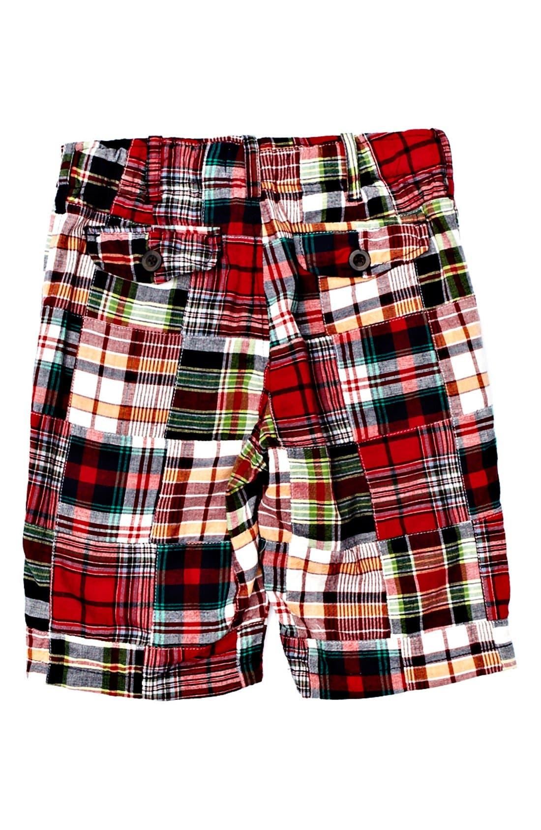 Alternate Image 2  - Peek 'Hampton Patch' Plaid Shorts (Toddler Boys, Little Boys & Big Boys)