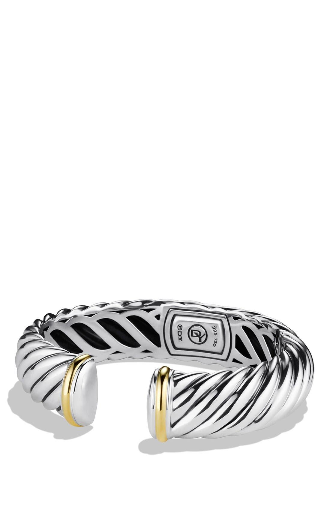 Alternate Image 1 Selected - David Yurman 'Waverly' Bracelet with Gold