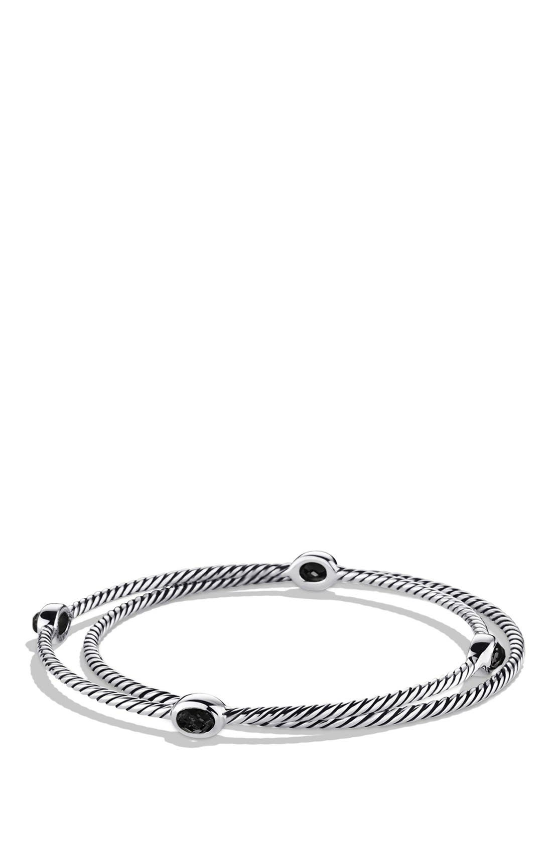 David Yurman 'Color Classics' Set of 2 Bangles with Semiprecious Stones